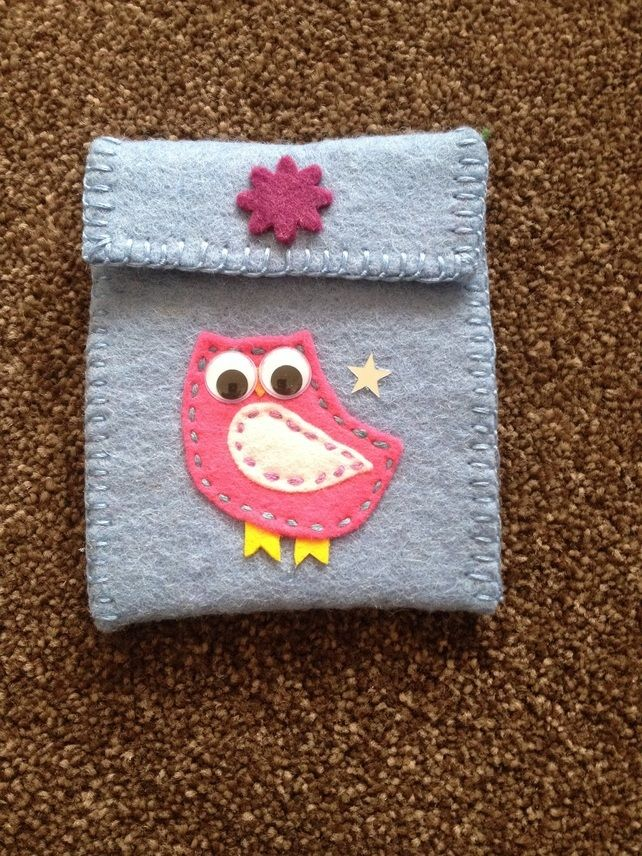 Handmade felt purse (381)