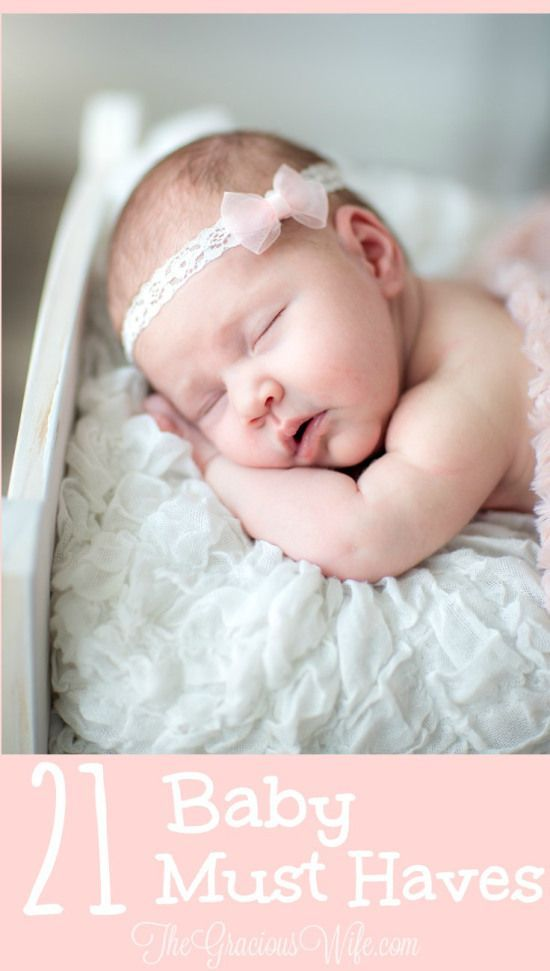 21 Baby Must Haves - MUST HAVE Baby stuff for a baby boy or a baby girl!  Great ideas for baby shower gifts too!  I wish I had this list during my first pregnancy.