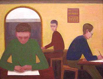 STUCKISM John Bourne paintings