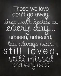 quote for loved ones who passed away - Google Search