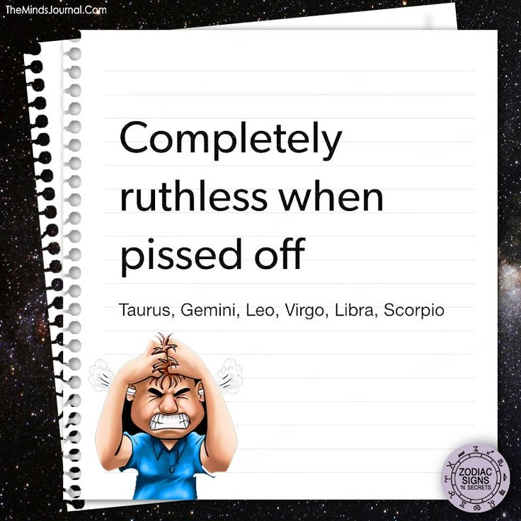 Completely ruthless when pissed off - https://themindsjournal.com/completely-ruthless-pissed-off/