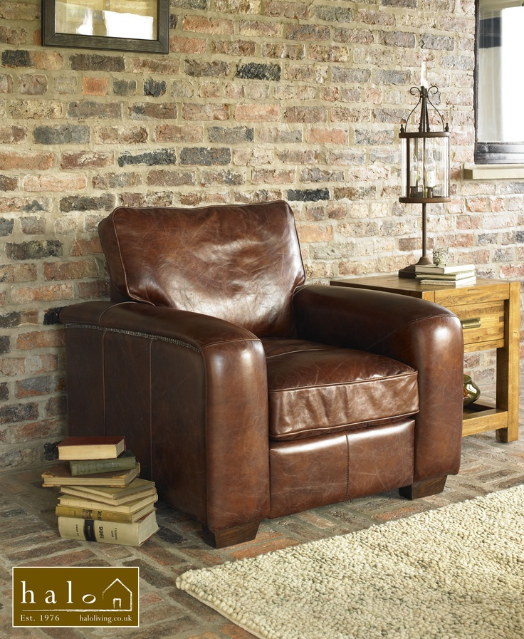Halo Montana Chair In Vintage Leather 欲しい家具 Pinterest 家具