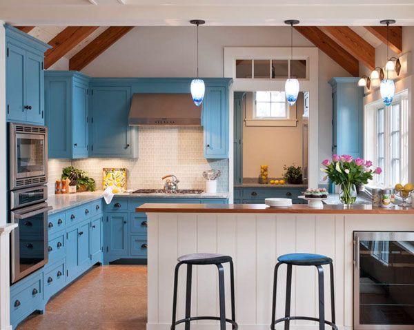 Kitchen Designers Boston Alluring 77 Best Blue Kitchen Cabinets Images On Pinterest  Blue Kitchen Review