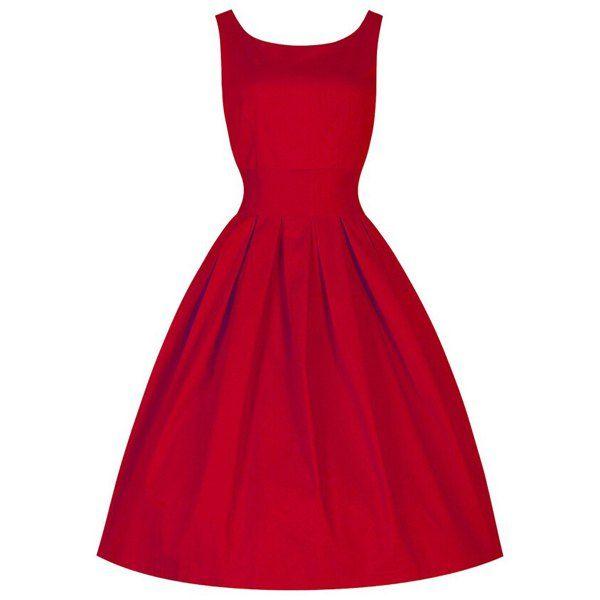 $10.61 Vintage Scoop Collar Sleeveless Solid Color Women's Midi Dress