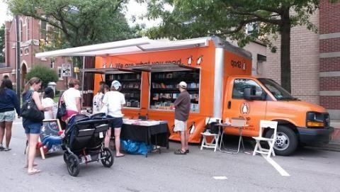The Penguin NYC Book Truck | Penguin Bookshop