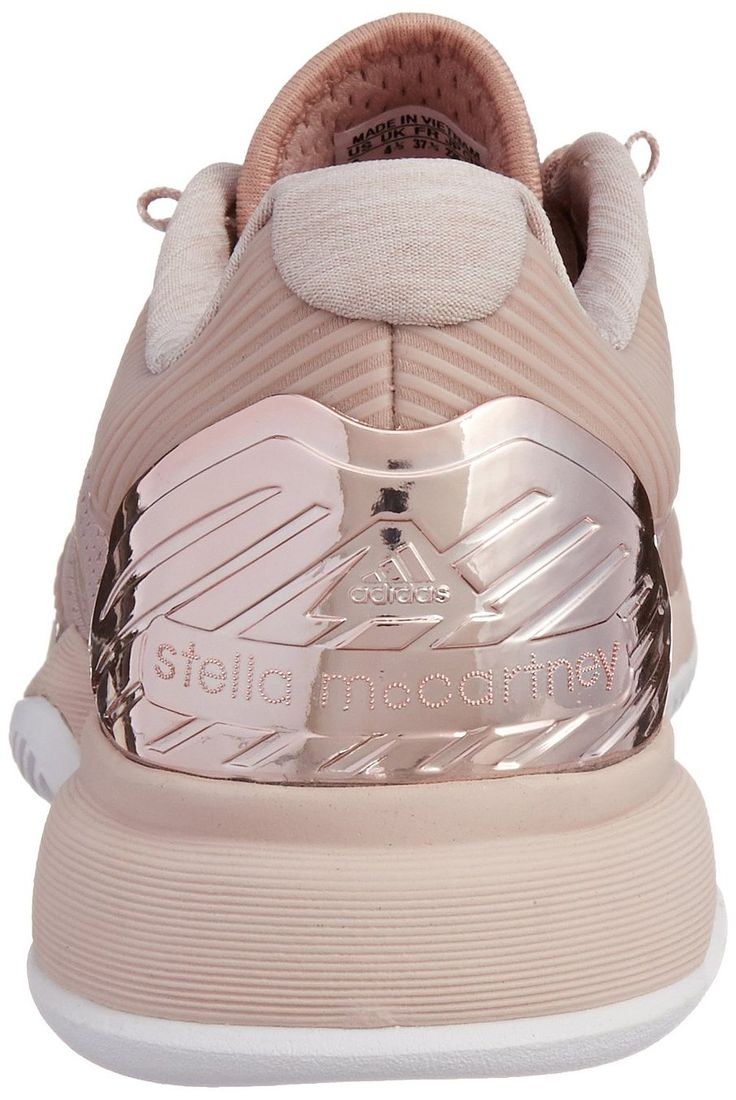 adidas Stella McCartney Barricade Ladies Tennis Shoe, Light Pink, UK8\u2026