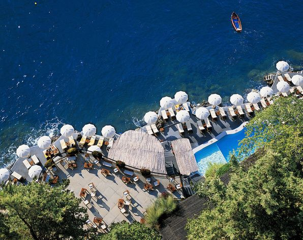 Santa Catarina hôtel Amalfi