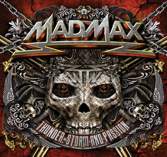 """Steamhammer / SPV GmbH - press release - Mad Max to release new album """"Thunder, Storm and Passion""""  MAD MAX will release the new album """"Thunder, Storm and Passion"""" via Steamhammer / SPV shortly. The release dates are: Europe: August 28th, 2015 USA + Canada: September 4th, 2015  The album comes as a high class digipac and contains 12 re-recorded classis on CD 1 and a bonus CD """"Live at Bang Your Head Festival 2014"""". The complete tracklisting can be found below."""