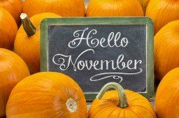 National Day Calendar with lots of fun holidays for each day in November, like National French Toast Day!
