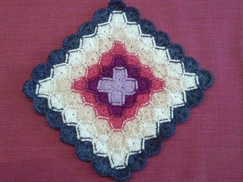 Сидушка ( Баварское вязание).