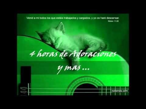 4 HORAS de Canciones Cristianas  Alabanza y Adoración  Música Cristiana ...
