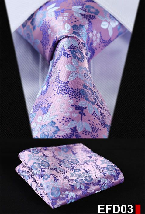 Brand Name: HISDERN Material: Silk Size: One Size Ties Type: Neck Tie Set Style: Fashion Gender: Men Pattern Type: Floral Department Name: Adult Item Type: Ties is_customized: Yes Place of Origin: Gua