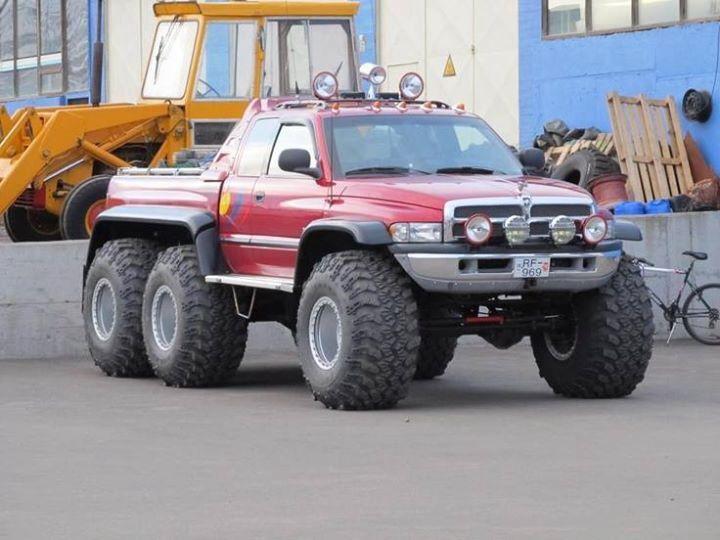 Icelandic Dodge 6x6 | Dodge | Pinterest | Dodge