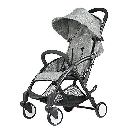 Baby Stroller Light Weight Stroller Portable Stroller( Gray) - Tiny Wonders