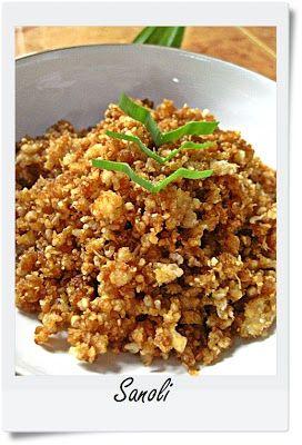 Annie's 1-2-3 Dish: Sanoli - (Almost Forgotten) Maluku Traditional Sagoo Dish