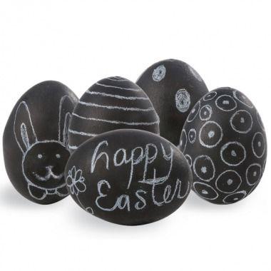 Chalkboard eggs! | Easy #DIY Easter Crafts - Parenting.com