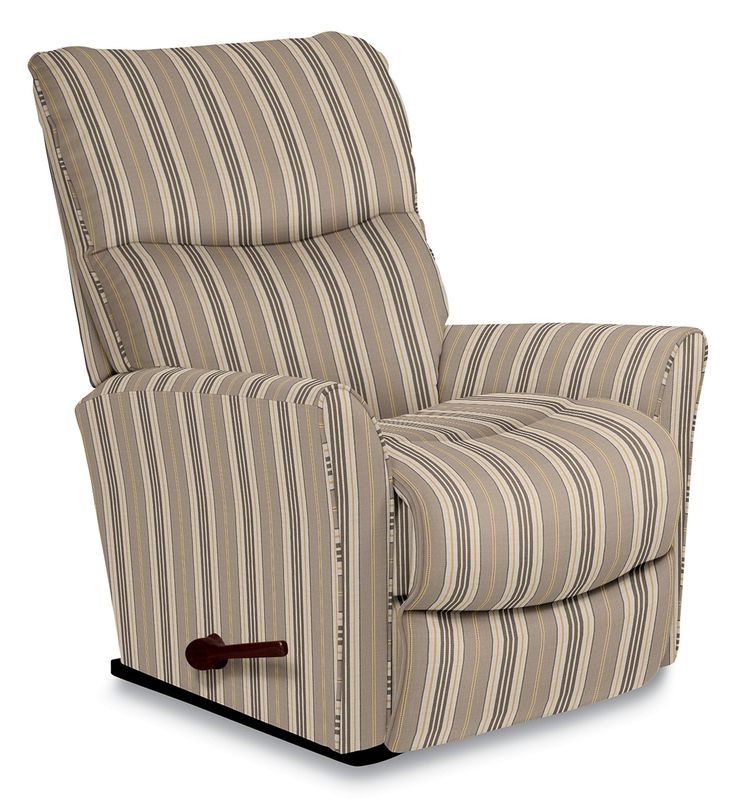 Yes, now it's possible to expand your decorating options by going smaller. Rowan offers clean, contemporary styling on a smaller-scale. It's a fresh, understated silhouette with bucket seat styling and an inviting chaise seat and legrest for full leg support and relaxing rocking motion. All the comfort is still there, but with modern flair!
