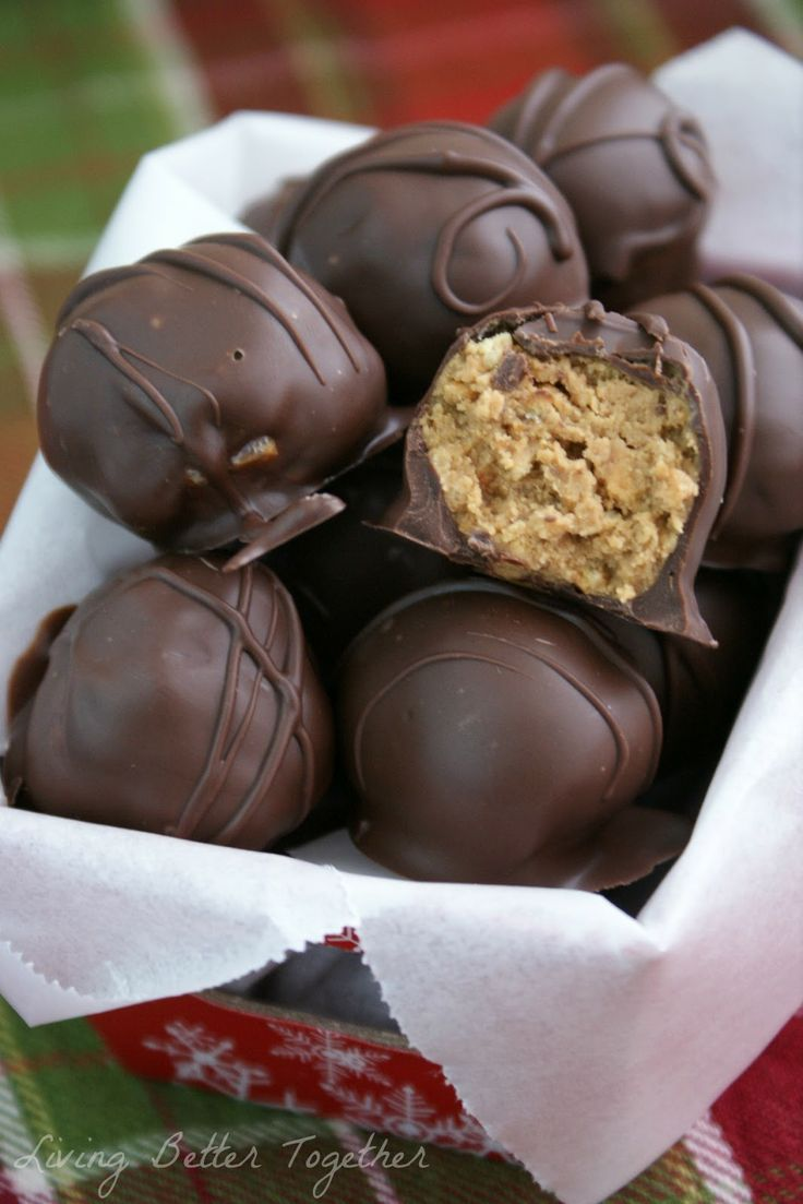 Living Better Together: Cookie Butter Balls