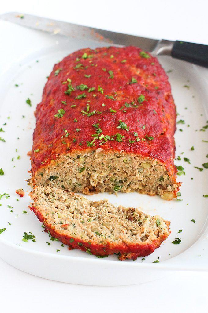 Italian Turkey Potato And Zucchini Meatloafclassic Comfort Food