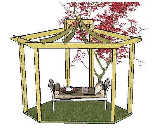 25 best ideas about pergola kits on pinterest vinyl for How to build a corner pergola