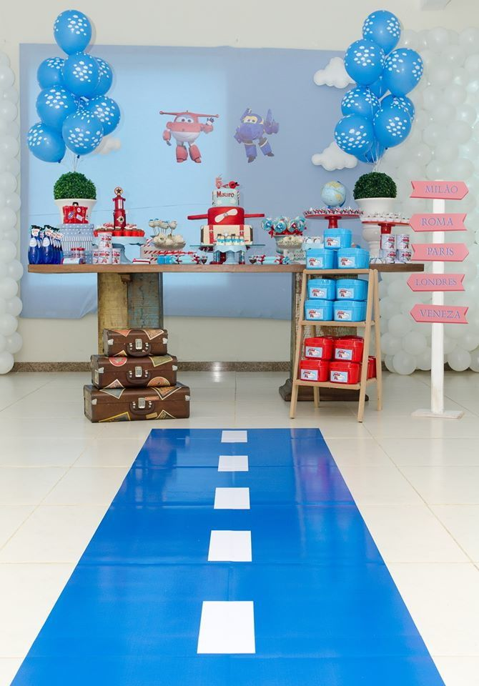Festa Super Wings Personalizado