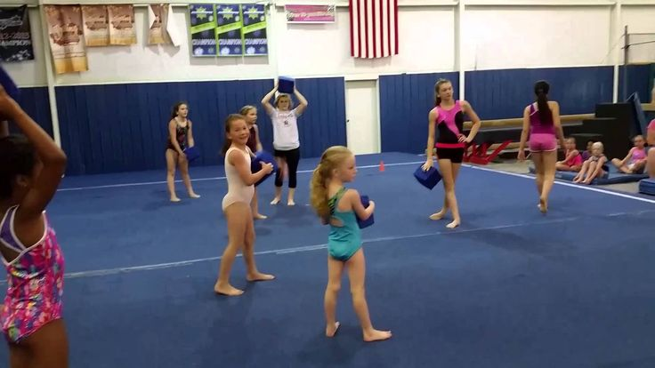 Musical Pit Blocks Game (Gymnastics/Fitness/Kids)