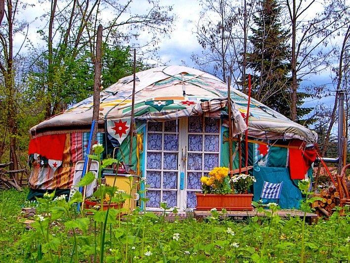 1000 id es sur le th me yourtes sur pinterest yurt int rieur vie de yurt et d me g od sique. Black Bedroom Furniture Sets. Home Design Ideas