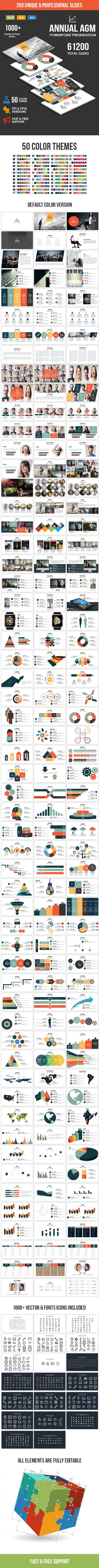 Annual AGM - Multipurpose PowerPoint Template - Business PowerPoint Templates
