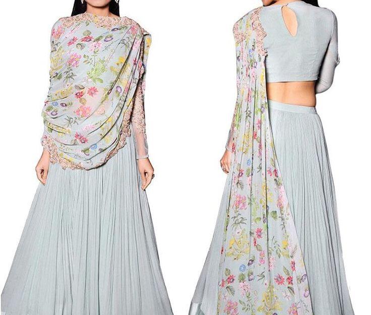Ridhi Mehra # azaa fashion # Indian fashion # draped love