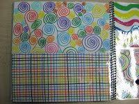 Un livre de graphisme pour leur donner l'envie d'enjoliver leur propre cahier de dessin