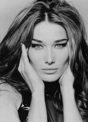 carla bruni- supermodel, singer/songwriter, married to french president...goddess among women