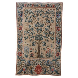 Tree Of Life Pale - Large Tapestry