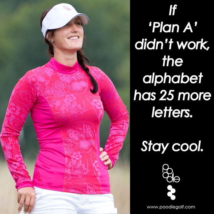 Poodle's 'Chill' shirt for golf #quotes #golf