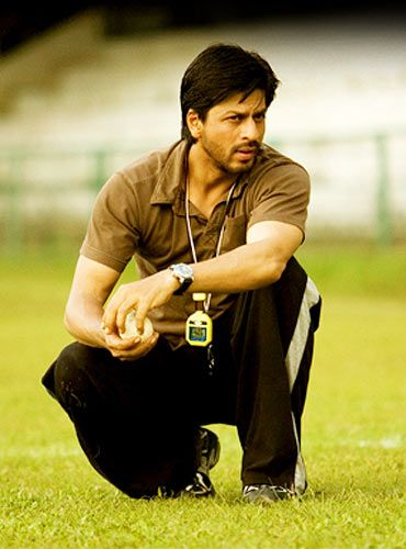 Shahrukh Khan in Chak De India (2007) - 100 Years of Indian Cinema