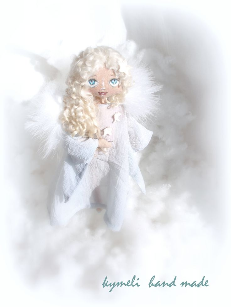 Angel Art Doll by kymeli
