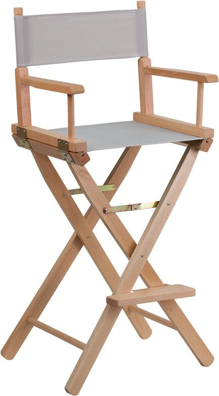 Buy Bar Height Directors Chair At EventsUber.com For Only $ 93.50
