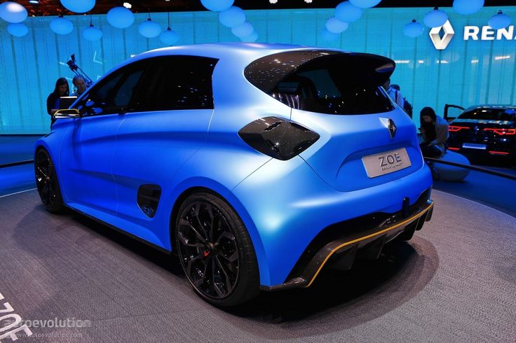 Renault Zoe RS Rendering Looks More Realistic Than the e-Sport Concept - autoevolution