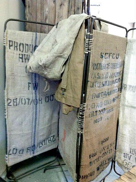 Coffee sack screen