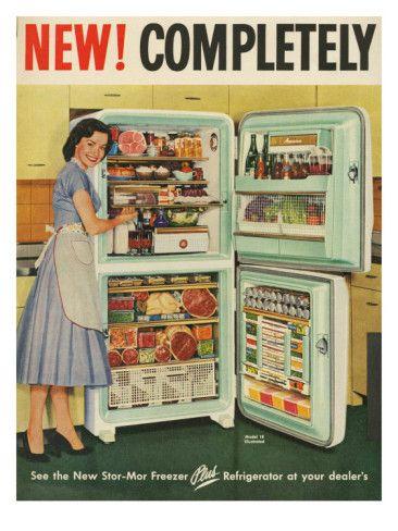 1950s vintage ad