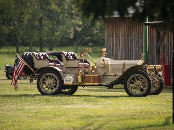 1907 thomas flyer 4 60 four passenger runabout e r thomas motor car