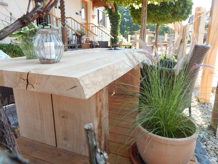 12 Best Esstische Aus Massivem Eichenholz Images On Pinterest Oak Tree Gartenmauer  Mediterran .
