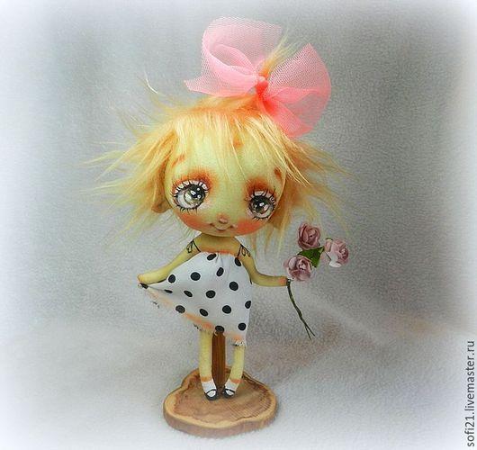 Коллекционные куклы ручной работы. Ярмарка Мастеров - ручная работа. Купить А мне букетик подарили.... Handmade. Комбинированный