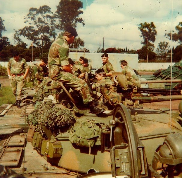 Rhodesian forces