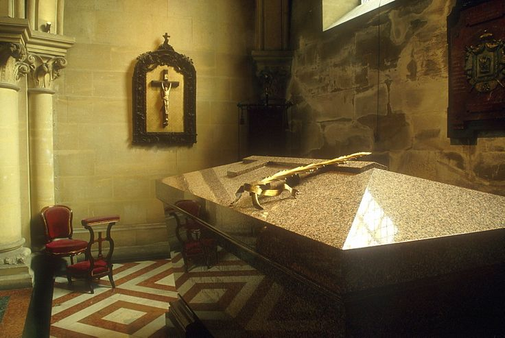 Tomb of the Prince Imperial of France, St Michaels Abby Farnborough Hants.
