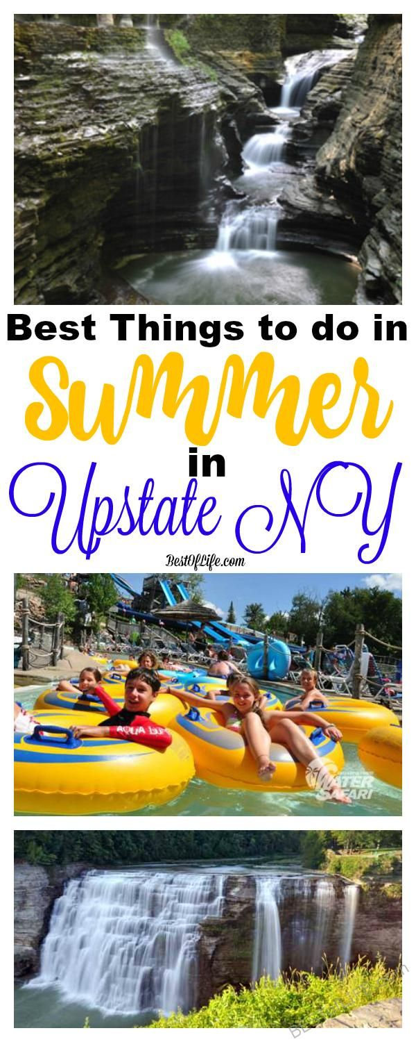 There are many things to do during the summer in Upstate New York. Activities and destinations for the whole family that make it a great travel destination.