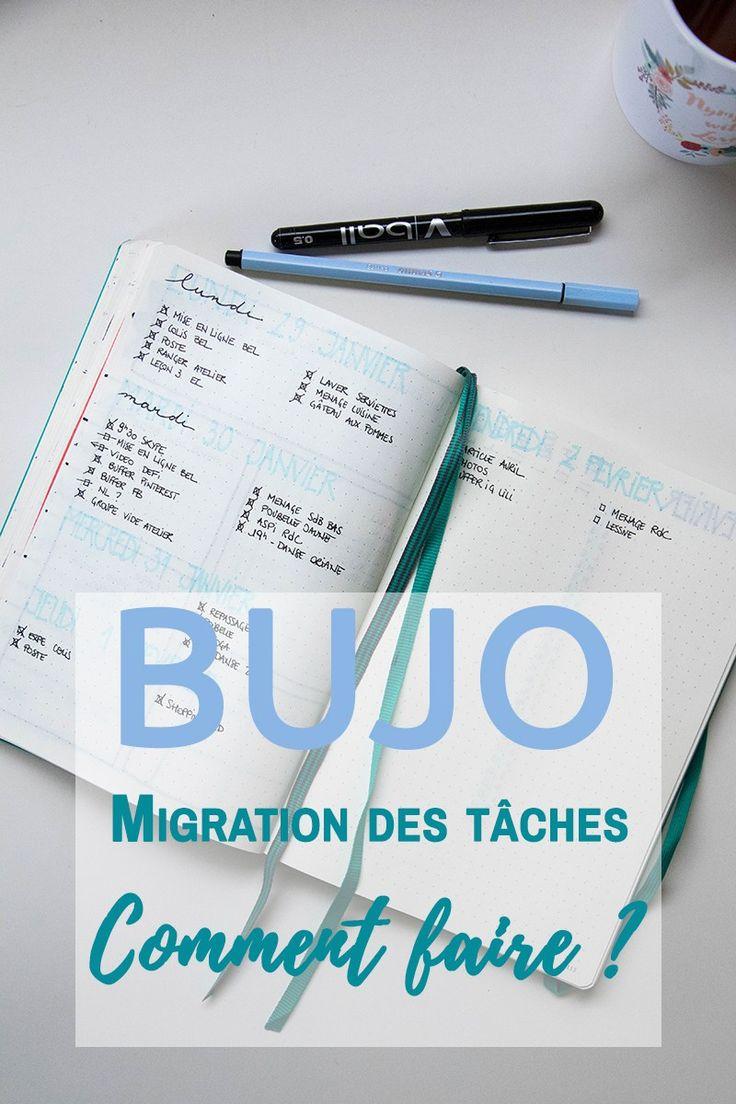 Migration des tâches dans ton Bullet Journal : comment ça marche ?
