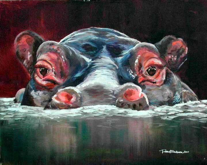 hippo fine art - Google Search