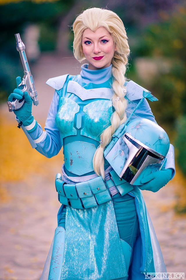 queens-of-cosplay:  Disney/Star Wars mashup themed shoot  Photographer: York In A Box