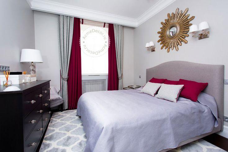 Шторы для спальни  #curtains #window #design #decor #bedroom #interior