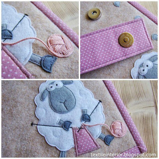 textileinterior: Applique